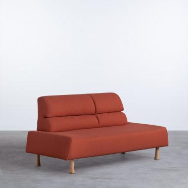 Sofá de 2 Plazas en Tela Shanum